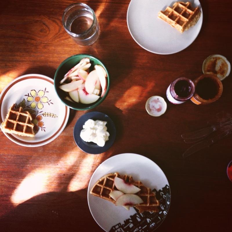 waffle spread