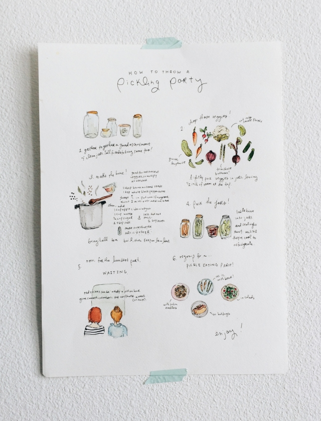 How to Throw a Pickling Party - irenekly